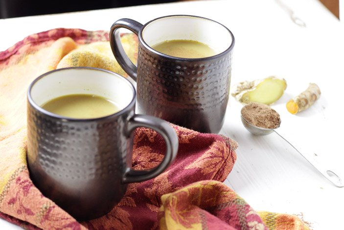 Turmeric Ginger Hot Cocoa