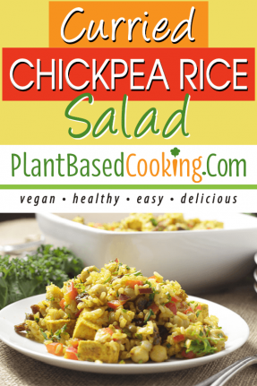 CURRIED CHICKPEA RICE SALAD