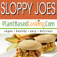 Vegan Tempeh Sloppy Joes