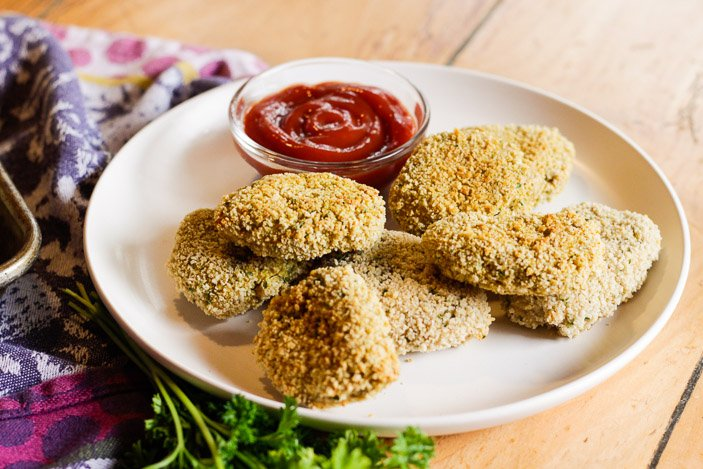 "Plant-Based ""Chicken"" Nuggets"