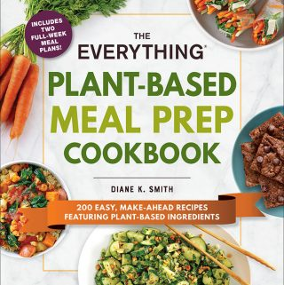 The Everything Plant-Based Meal Prep Cookbook Cover