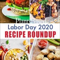 plant-based labor day 2020 recipe roundup.
