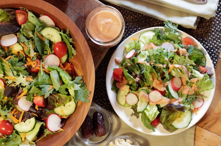 Oil-Free Creamy French Salad Dressing