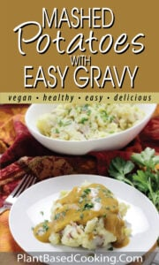 MASHED POTATOES WITH EASY GRAVY pin